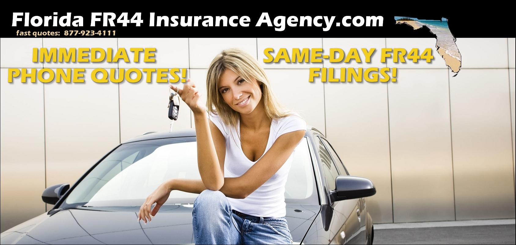 low cost Florida FR44 insurance quotes logo